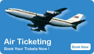 Air Tickting, Cheap Air Fare, Budget Flight Booking